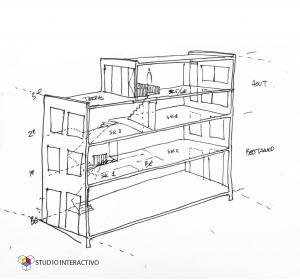 Opbouw Pedro de Medinalaan→